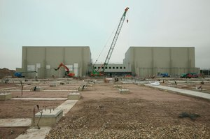 Grain - Construction converter halls - October 2009